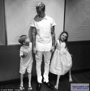 Justin Bieber Shares Adorable Snap With His Brother And Sister